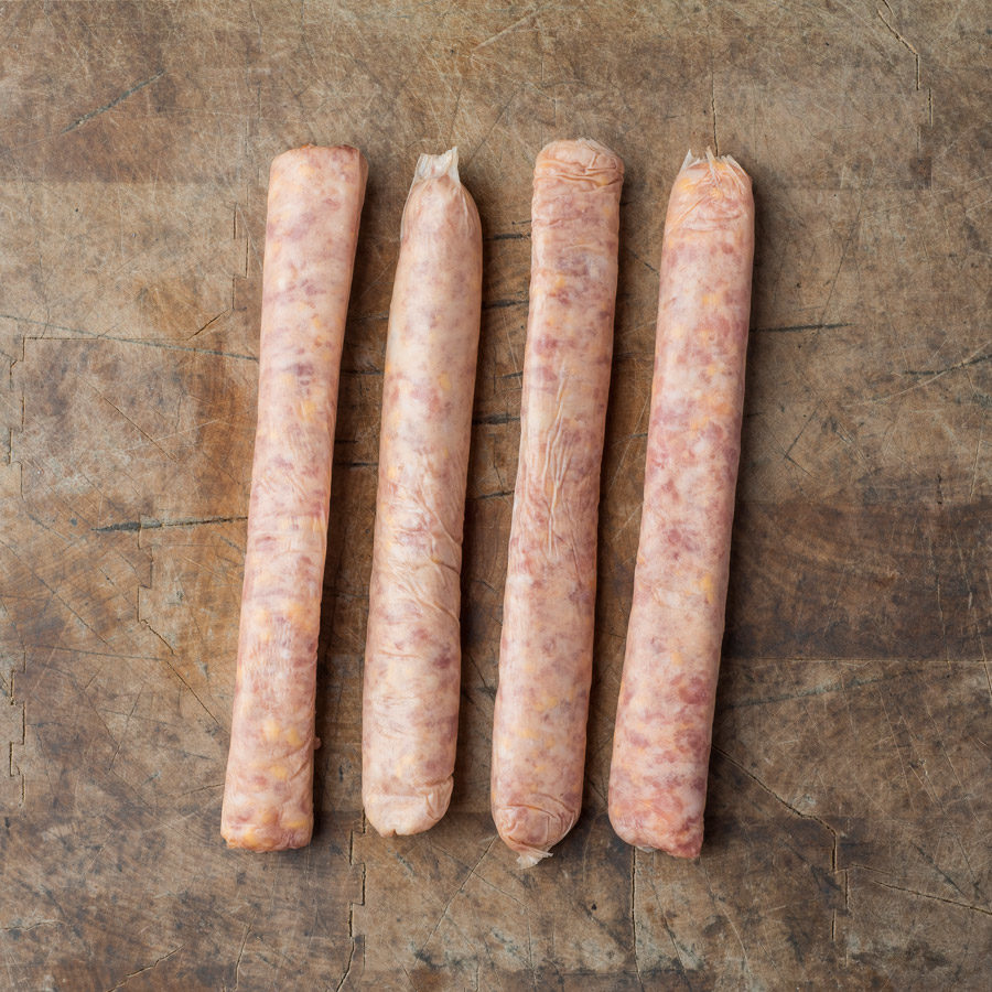 Saucisses bacon-fromage - Petites
